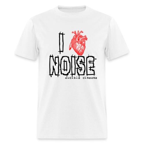 I Heart Noise - Men's T-Shirt