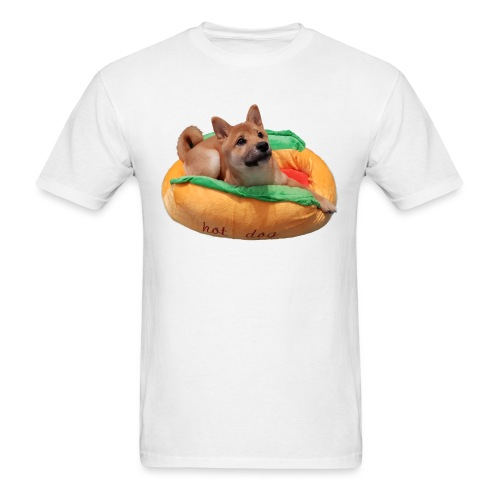 hot doge - Men's T-Shirt