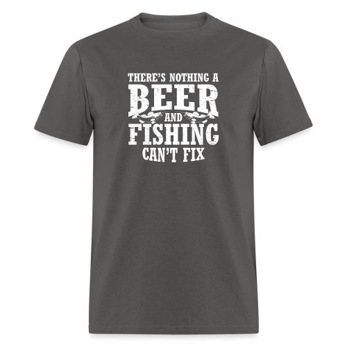 Beer & Fishing - Men's T-Shirt
