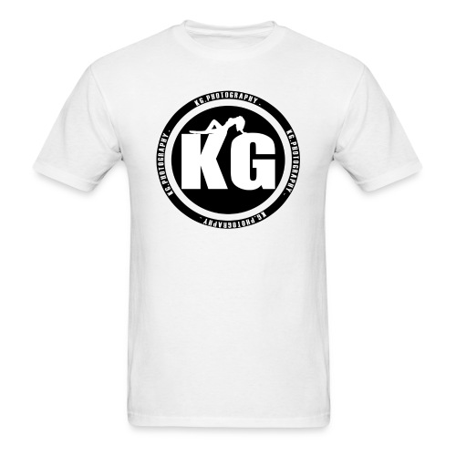 KGPHOTOGRAPHY WHITE T's - Men's T-Shirt