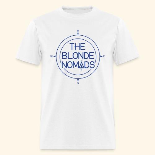 The Blonde Nomads Blue Logo - Men's T-Shirt
