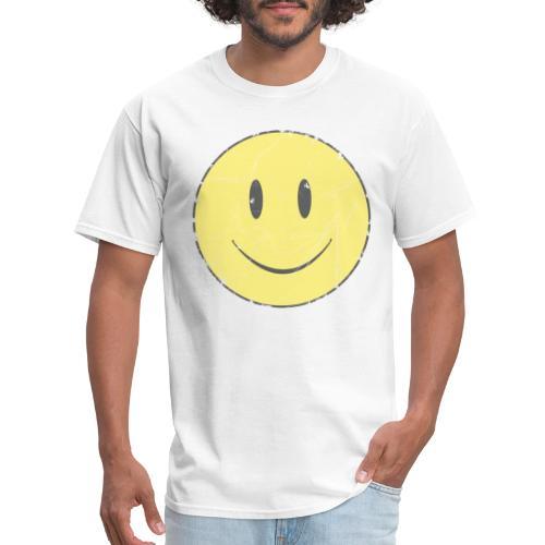 smiley face - Men's T-Shirt