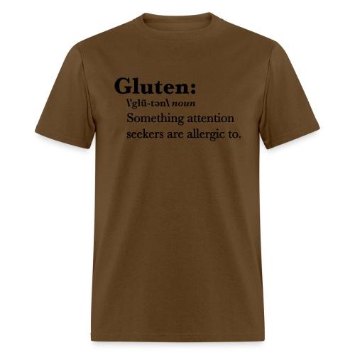 Gluten def - Men's T-Shirt