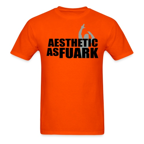 Zyzz Aesthetic as FUARK - Men's T-Shirt