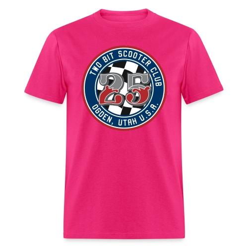 Two Bit Scooter Club Logo - Men's T-Shirt