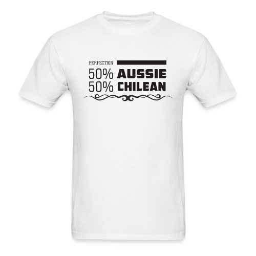AUSSIE AND CHILEAN - Men's T-Shirt