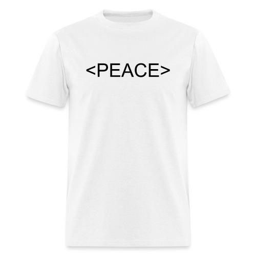 HTML Start Peace - Men's T-Shirt