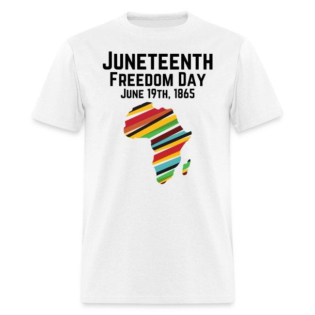 Juneteenth 1865 - Africa Map