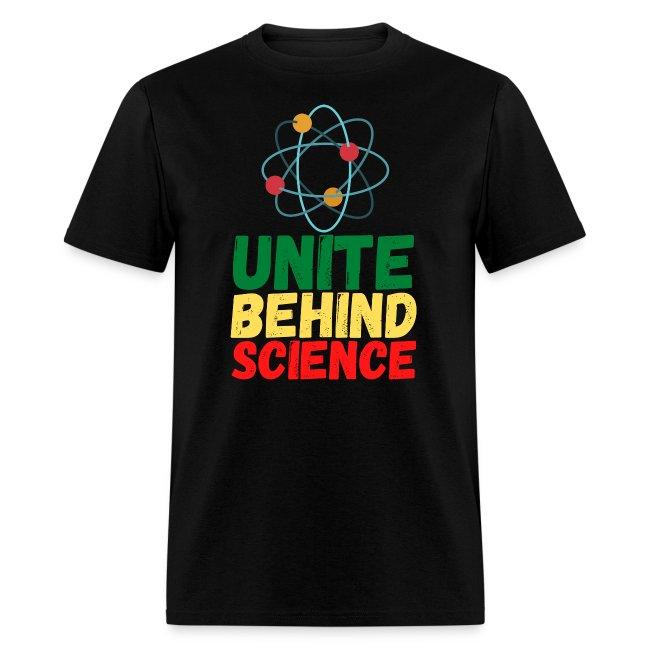 Unite Behind Science - Atom Symbol