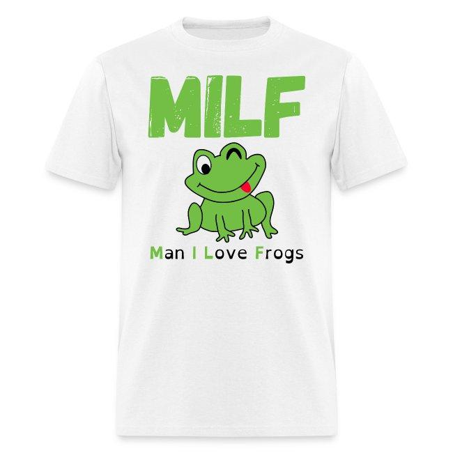 MILF (Man I Love Frogs) - Cartoon Frog Winking