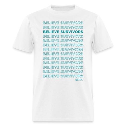 Believe Survivors - Men's T-Shirt