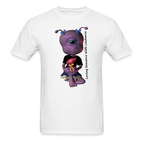 rissa purple - Men's T-Shirt