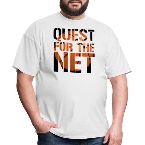 Quest for the Net Basketball - Men's T-Shirt