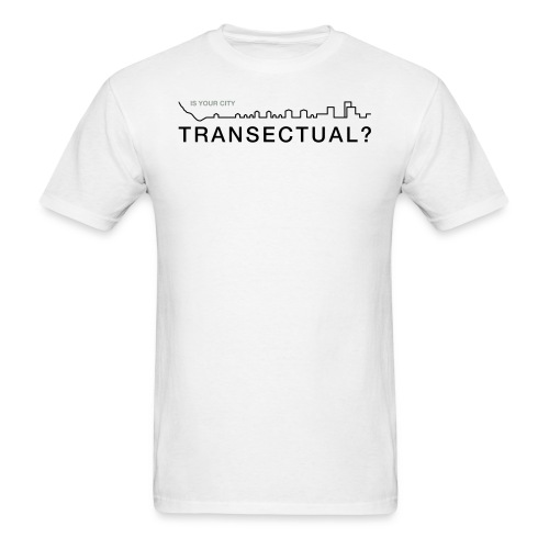 TransectLogo - Men's T-Shirt
