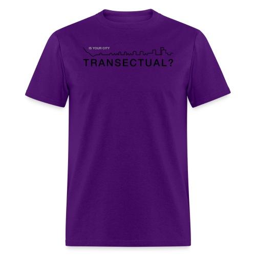 TransectLogo - Men's T-Shirt
