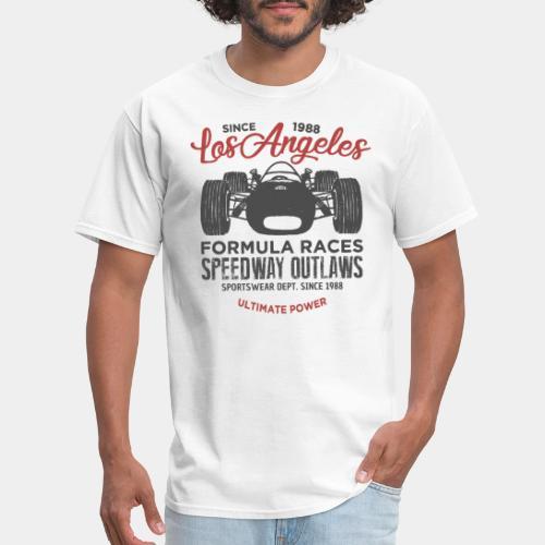 speed car outlaw race t-shirt - Men's T-Shirt