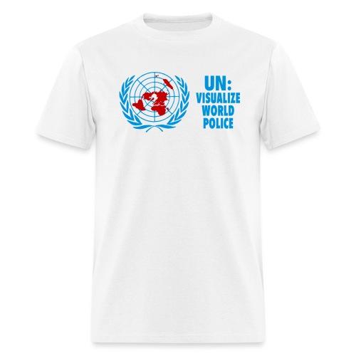 UN: Visualize World Police - Men's T-Shirt