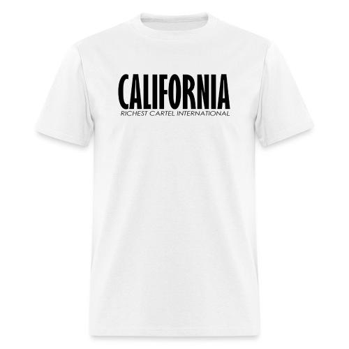 Cali black - Men's T-Shirt