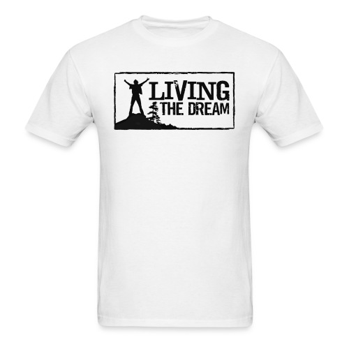 Women's Living the Dream Long-Sleeve T-Shirt - Men's T-Shirt
