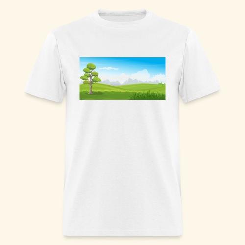 Hills cartoon - Men's T-Shirt