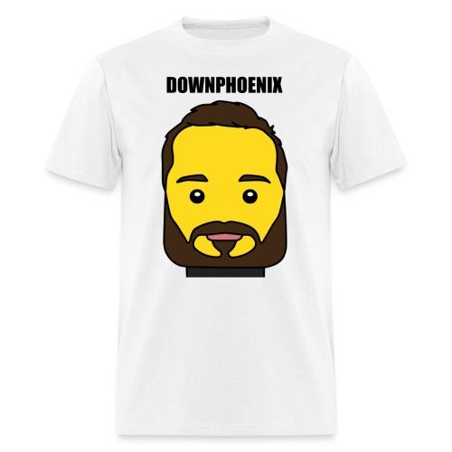 Downphoenix Face Mode - Men's T-Shirt