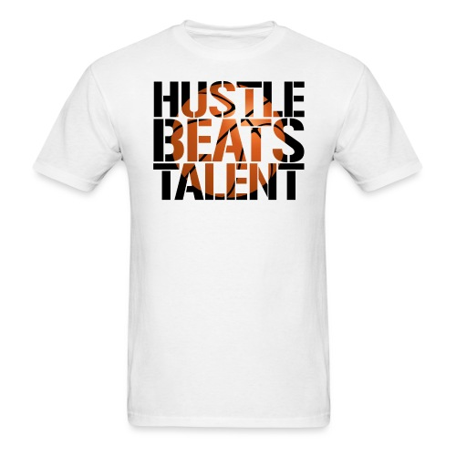 Hustle Beats Talent hoops basketball - Men's T-Shirt