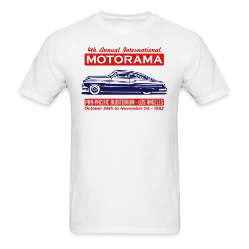 CCC-Barris-Motorama-light - Men's T-Shirt