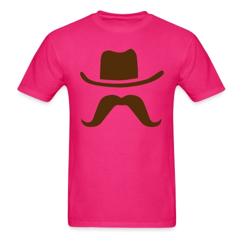 Hat & Mustache - Men's T-Shirt