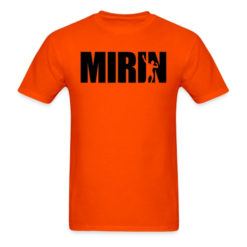 Zyzz Mirin Pose text - Men's T-Shirt