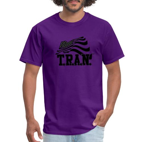 New Tran Logo Transparent png - Men's T-Shirt