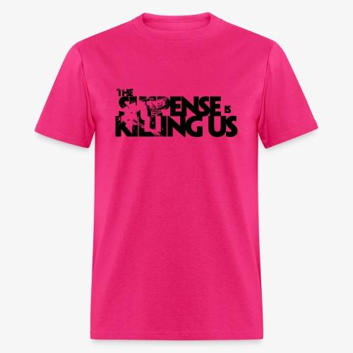 Suspense Is Killing Us Logo Black - Men's T-Shirt