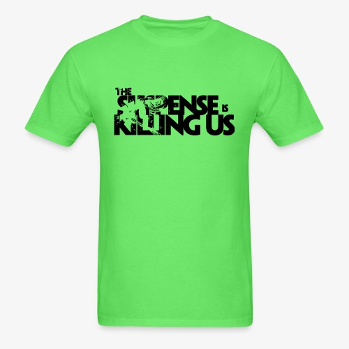 Suspense Is Killing Us Logo Black - Men's T-Shirt