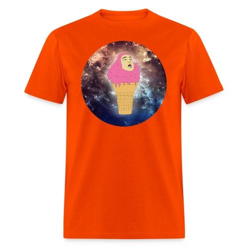 pinkguy icrecream circlenormal beme - Men's T-Shirt