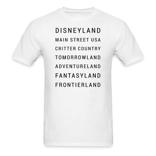 Minimalist Disneyland - Men's T-Shirt