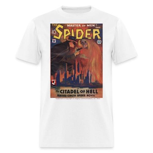 193403touchedwlogo - Men's T-Shirt