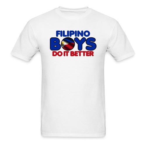 2020 Boys Do It Better 05 Filipino - Men's T-Shirt