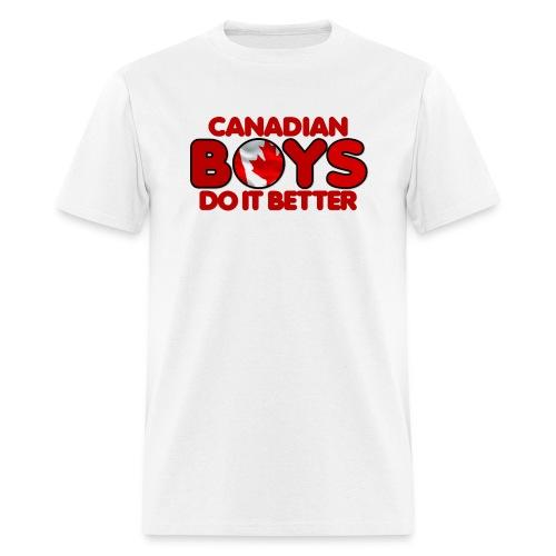 2020 Boys Do It Better 04 Canadian - Men's T-Shirt