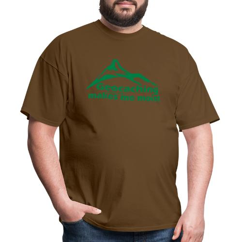 Geocaching in the Rain - Men's T-Shirt
