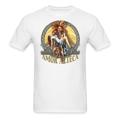 Amor Azteca by RollinLow - Men's T-Shirt