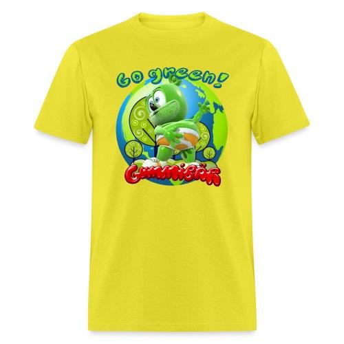 Gummibär Go Green Earth Day Earth - Men's T-Shirt
