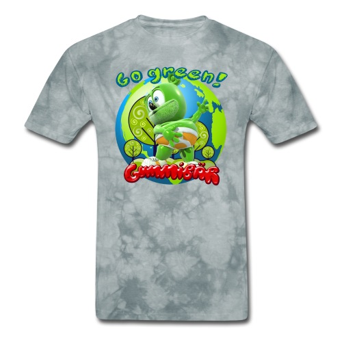 Gummibär Go Green Earth Day Earth - Men's T-Shirt