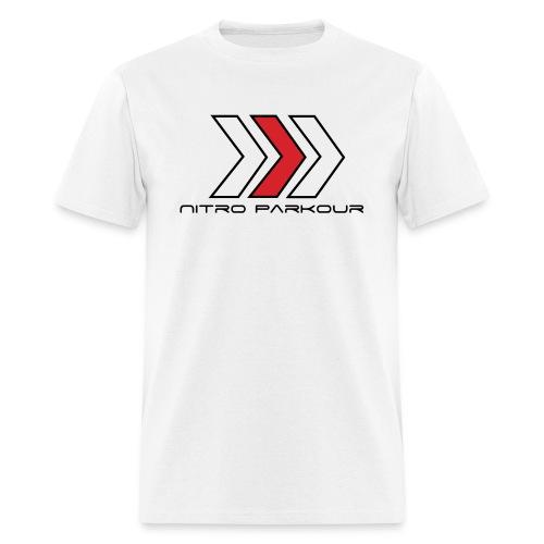 fleche nitroparkour spreadshirtnoir gif - Men's T-Shirt