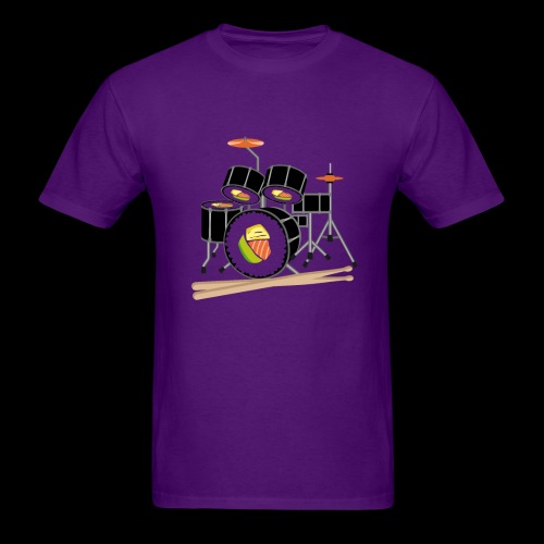 Sushi Roll Drum Set - Men's T-Shirt