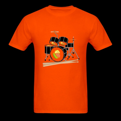 Sushi Roll Drum Set - Men's T-Shirt