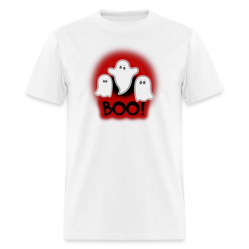 Ghosties Boo Happy Halloween 5 - Men's T-Shirt