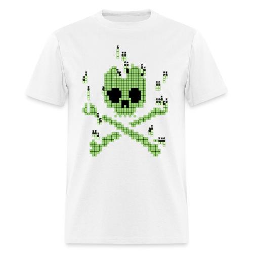 Digital Jolly Roger - Men's T-Shirt
