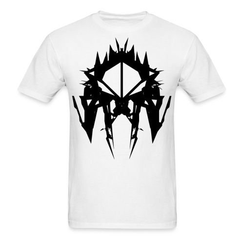 LOGO 1_invert - Men's T-Shirt