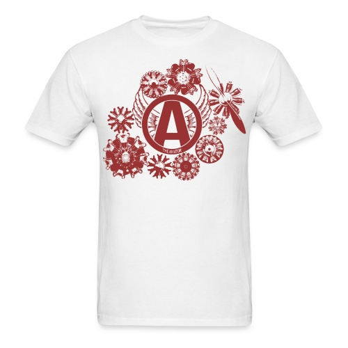 enginesavatardesignred - Men's T-Shirt
