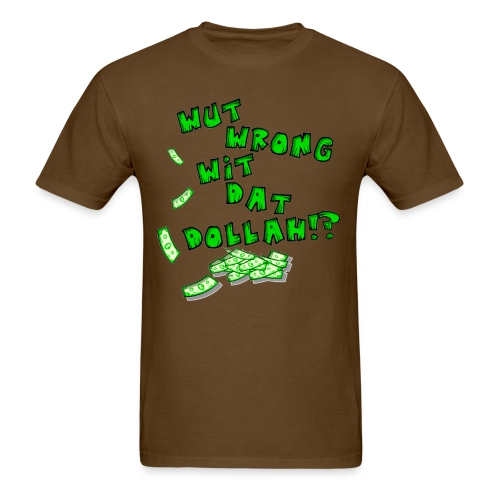 what wrong png - Men's T-Shirt