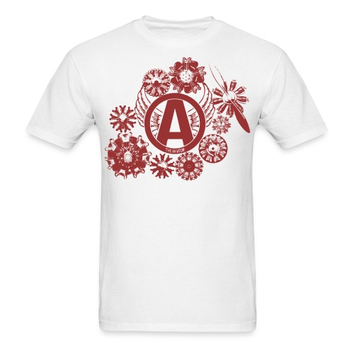 enginesavatardesignred - Men's T-Shirt